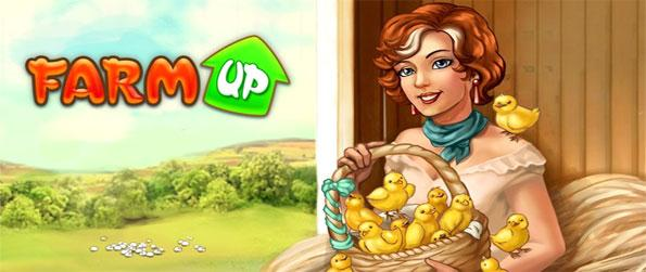 Farm Up - Enjoy a fantastic quality and stunningly good looking farm management game free from Big Fish Games.