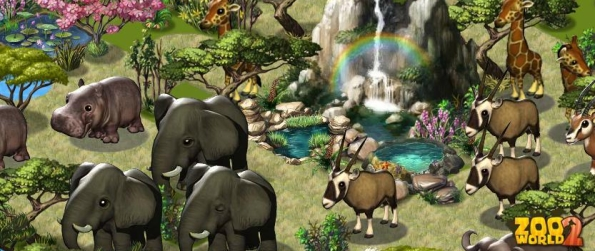 Zoo World 2 - Build A Zoo, Feed, Breed & Care For Animals!